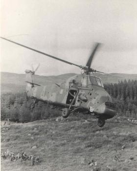 Returning Patrols from 2 Para C (Bruneval) Coy Northern Ireland 1980