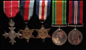 Reverend M McGowan Medal Set
