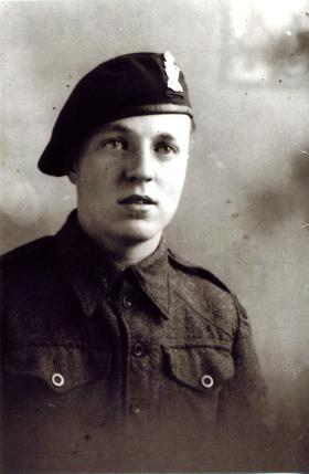 Rifleman L Rooke, 1st Bn Royal Ulster Rifles, 1943, Aged 17