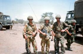3 Para Kenya 1992, Pte Maz Westry, Pte Taff Davies others names forgotten