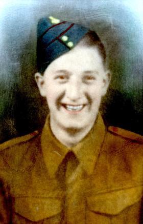 """""""Bill"""" Riddell, aged 18, February 1942."""