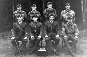 Guards Para Company Rigging Team Winners 1960s