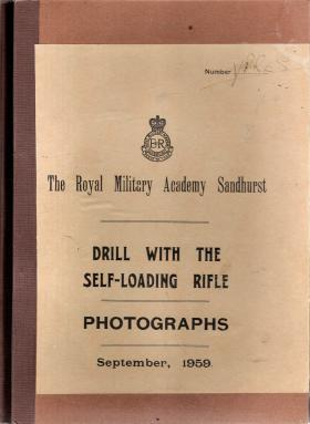 RMAS Drill with the Self Loading Rifle, Photographs, September, 1959.