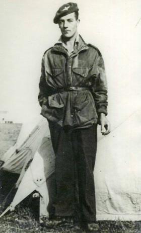 Pte Robert Harding, c1944.