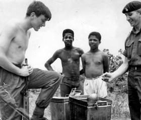 Taking Pot Luck, Lance Corporal Hastings, 2 PARA, Operation Sheepskin, 1969.