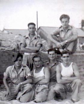 Members of 6th (Welch) Para Bn, Palestine.