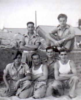 Members of 6th (Welch) Para Bn, Palestine.