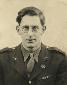 Lt Ronald Hinman,1940s.