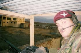 Pte 'Ross' Phillipson, Afghanistan, 2002.