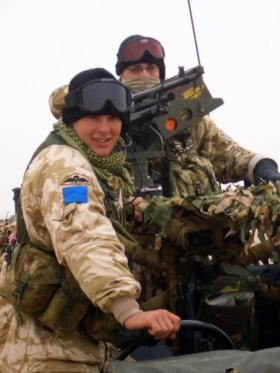 Ptes 'Ross' Phillipson and 'Kenny' Southwick, Iraq, 2005.