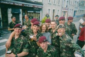 Members of 2 PARA, France, 2003.