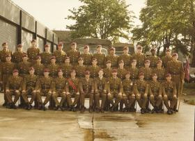 3 Coy 10 PARA Contingent for Queens Silver Jubilee Procession July 1977