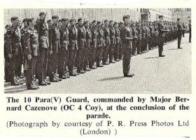 10 PARA Guard Airborne Forces Day July 1978