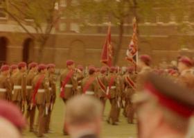 10 PARA New Colours Parade Duke of Yorks London June 1983