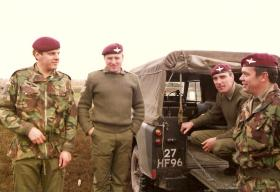 3 Coy (10 PARA) Families Day 1983