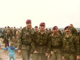 Members of 3 Coy, 10 PARA, Ginkelse Heide DZ Sept 1983