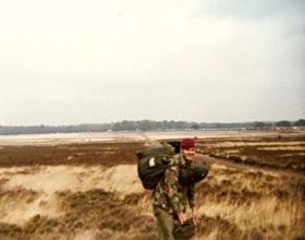 Mark Ross on Ginkelse Heide DZ September 1983