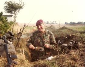Mark Ross on 10 PARA Annual Camp Denmark 1981