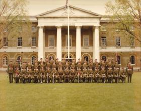 3 Coy Guard, presentation of new Colours to 10 PARA, London 3 June 1983.