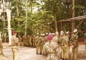 10 PARA Training Wing Trainasium Aldershot July 1983