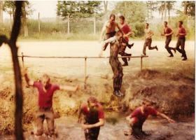 10 PARA Training Wing Steeple Chase Aldershot July 1983