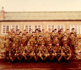 Junior Brecon with good 4 and 10 PARA presence, September 1980.