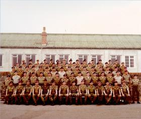 Senior Brecon with 10 and 15 PARA presence, September 1982