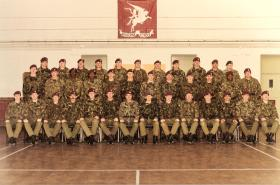 3 Coy 10 PARA Remembrance Day 1985
