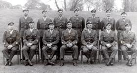 The Parachute Regiment RSMs c1971