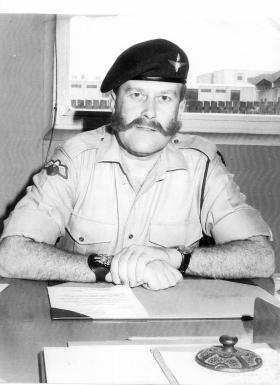 RSM 'Tom' Foster, 1 PARA, 1969-1971.