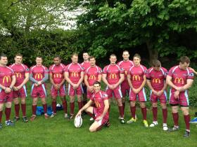 Rugby 4Heroes at The Old Leamingtons RFC, May 2013.