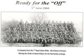 A Coy, 1st Battalion Royal Ulster Rifles 5 June 1944