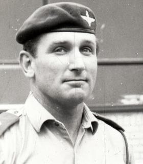 Major John Rymer-Jones, 2ic 1 PARA, 1969.