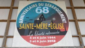 Logo for the commemoration of the 68th Anniversary of D-Day, 2012.