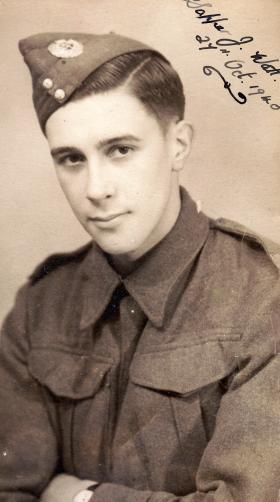 Sapper James Watt, 9th Field Company RE, 27 October 1940.