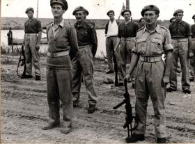SAS Troopers after the capture of Termoli, 1943.