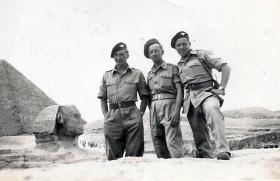 Members of 9th (Essex) Parachute Battalion, April 1946.