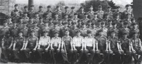 C Coy 1 PARA Palace Barracks, Holywood Northern Ireland, 1971