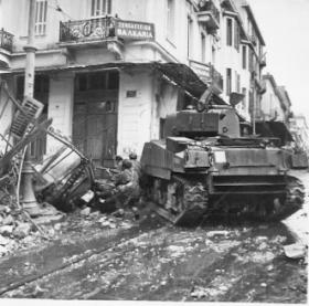 Operation Manna - Clearing a couple of houses of E.L.A.S. - 20th Dec 1944