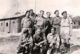 G Section, 5 Platoon, A Company, 4th Battalion, South of France, August 1944.