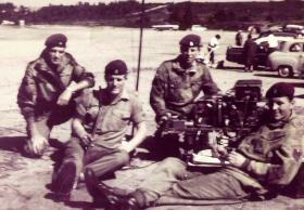 Members of F Battery, 7 PARA RHA, c1965.