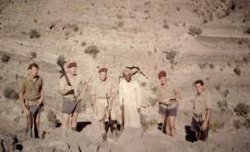 Members of F Battery, 7 PARA RHA, Oman, 1963.