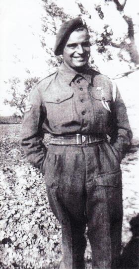 Cpl Neville Ashley MM, Italy, 1943.