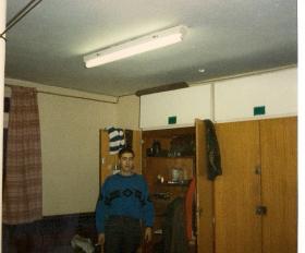 JInf Matt Kindred, Junior Para Coy, Pirbright 1986.