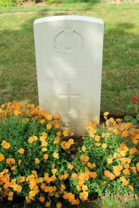 Headstone of Captain Frederick Scholes Ranville War Cemetery 2010