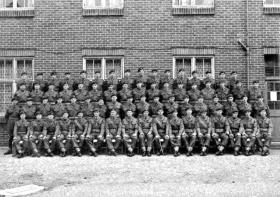 B Company, 2 PARA, Aldershot, 1954.