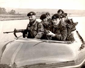 Seaborne Assault, members of 15 PARA, Arran, Scotland, date unknown.