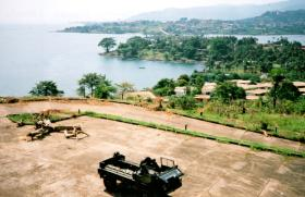 D Coy Group, 2 PARA, Secure Base, Sierra Leone, May 2000.