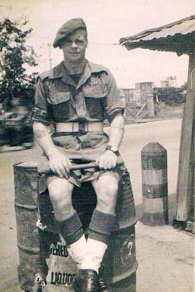 Allen 'Wally' Walpole from 7th (LI) Para Bn in the Far East 1945/46