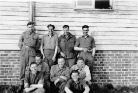 Senior Instructors Course Small Arms School Hythe circa April 1946